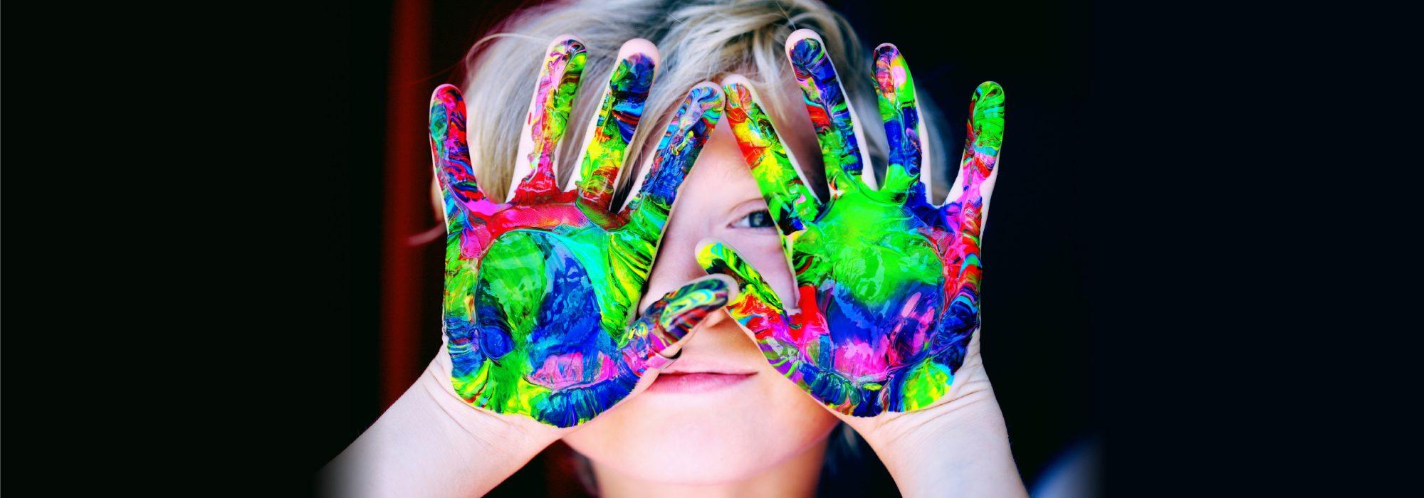 nursery watford Painted Hands